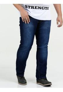 Calça Masculina Jeans Slim Plus Size Biotipo