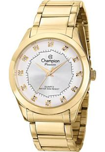 Relógio Feminino Champion Ch24759W Analógico 5Atm + Conjunto Semijóia