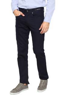 Calça Jeans Aramis Slim Londres Stretch Azul-Marinho