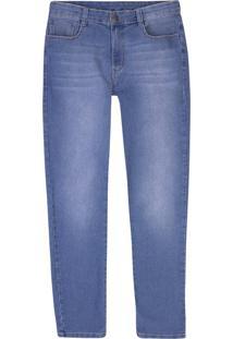 Calça Jeans Masculina Skinny Com Elastano