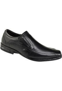 Sapato Social Ferracini Florença Masculino - Masculino-Preto