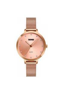 Relógio Skmei Analógico 1291 Rose