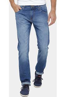 Calça Jeans Slim Colcci John Indigo Masculina - Masculino