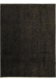 Tapete Charmin Retangular Shaggy (150X200 Cm) Marrom