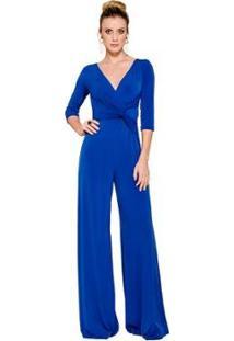 Macacão Pantalona Alphorria Feminino - Feminino-Azul