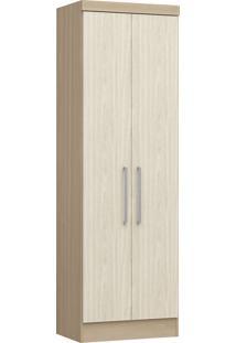 Modulo Com 2 Portas Infinity 3820A-Castro Móveis - Nogueira / Nudi