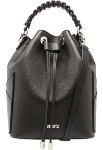 Bucket Bag Tressê Black   Schutz