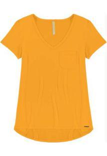 Blusa Malha Amarelo