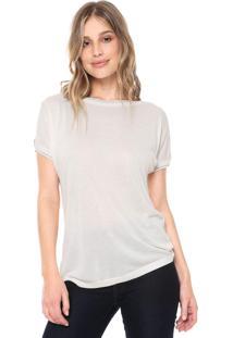Blusa Ana Hickmann Off Shoulder Off-White