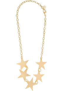 Maxi Colar Estrelas - Dourado