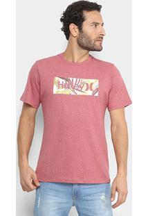 Camiseta Hurley Silk O&O Tropic Masculina - Masculino