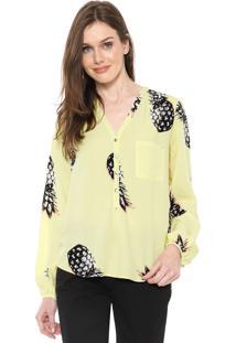 Camisa Lez A Lez Pineapple Amarela