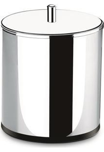 Lixeira Com Tampa Em Aço Inox 3.2L Alto Brilho 3030201 Brinox