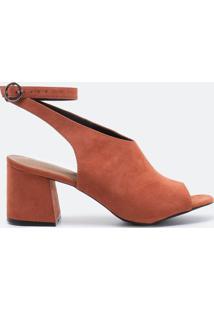 Sapato Feminino Fake Suede Satinato
