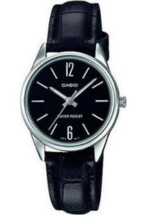 Relógio Casio Collection Feminino - Feminino-Preto