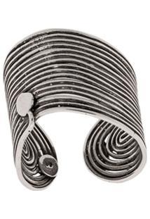 Gas Bijoux Metallic Thread Ring - Prateado