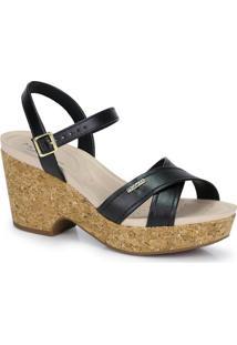 Sandália Salto Modare Preto