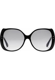 Gucci Eyewear Specialized Fit Square-Frame Sunglasses - Preto