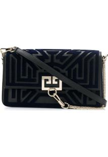 Givenchy Clutch Tufted Labyrinth - Preto
