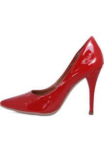 Sapato Love Store Scarpin Vermelho
