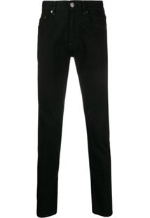 Pt01 Rock Straight-Leg Jeans - Preto