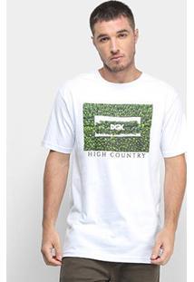 Camiseta Dgk High Country Masculina - Masculino-Branco