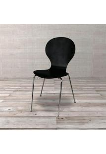Cadeira Shell Preto Etna