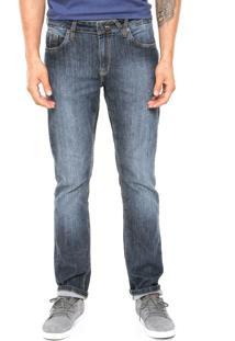 Calça Jeans Volcom Solver Ii Azul