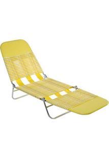 Cadeira Espreguiçadeira Vinil Fashion 2411- Mor