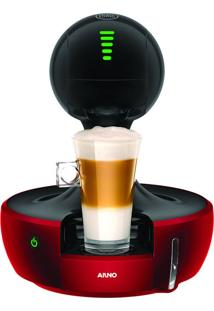 Cafeteira Arno Dolce Gusto Drop, Automã¡Tica, Multibebidas, Touchscreen, Vermelha