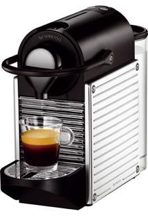 Cafeteira Expresso Nespresso, Com Desligamento Automã¡Tico, Pixie Steel - C60