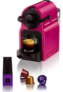 Cafeteira Expresso Nespresso Inissia Rosa