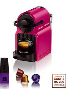 Cafeteira Expresso Nespresso Inissia Rosa + R$ 200,00 Em Cã¡Psulas