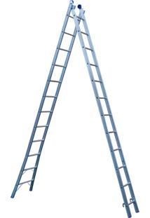 Escada De Alumínio Extensível 2X12 - Mor