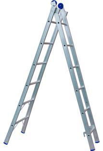 Escada De Alumínio Extensível 2X6 - Mor