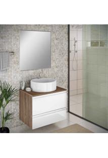 Espelho De 60 Cm Para Banheiro Itatiaia Brisa/Solaris