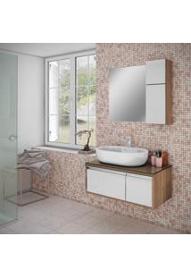 Espelho Para Banheiro Itatiaia Luna/Pã©Rola