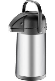 Garrafa Térmica 1,9 Litros Brinox, Com Alavanca - 1380/100