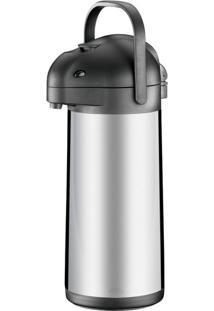 Garrafa Térmica 2,5 Litros Brinox, Com Alavanca - 1381/100