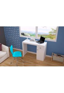 Mesa Para Computador Brv Móveis, 1 Porta, 1 Gaveta - Bc35