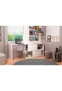 Mesa Para Computador Brv Móveis Com 2 Portas - Bc44