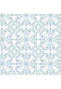 Tecido Adesivo Azulejinho Hidraulico Azul Rafael
