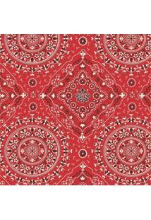Tecido Adesivo Bandana Vermelha