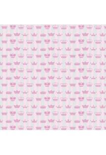 Tecido Adesivo Princesa Rosa E Cinza