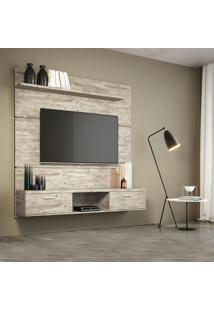 Painel Para Tv 55 Polegadas Flat Aspen 160 Cm