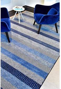 Passadeira Belga Bruges 0.80X1.50 032-743 Azul