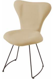 Cadeira Jacobsen Series 7 Areia Com Base Curve Preta - 49613 - Sun House