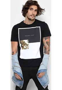 Camiseta Cavalera Camuflado Gold Masculina - Masculino
