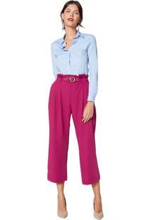 30be0271f Calça Cintura Alta Rosa feminina | Shoelover