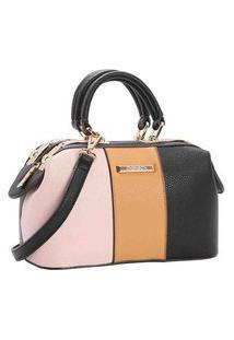 Bolsa Feminina Chenson Mini Bags Transversal Bege 3482931